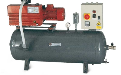 vacuum pumps tanks